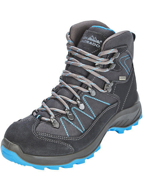 High Colorado Ultra Hike Mid High Tex Wanderschuhe Damen anthrazit-blau